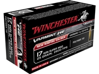 Winchester 17 Winchester Super Mag 25 gr