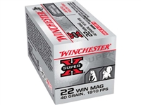 Winchester 22 Win Mag 40gr