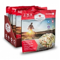 Wise Co. Creamy Pasta and Vegetables w/ Chicken 6pk