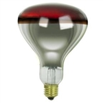 250R40/10/120V 250 WATT RED SAFETY COATED HEAT LAMP, 250R40/10/120V RED SAFETY COATED HEAT LAMP, 250R40/10/TC, 250R40/COATED