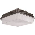 Eiko - (09448) LED SCSS-3C-50K-U Surface Canopy Square, Eiko #09448, Litespan LED Square Surface Canopy Fixture