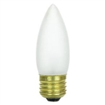 Halco 102146 - Shatter Resistant - 60W Bulb,ETC60/CS 102146 60W TORP MED 130V COVERSHIELD,60 Watt B10 Safety Coated Clear