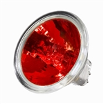 BAB/RED (20W/12V) Flood MR16 With Lense GX5.3 Base, BAB-Red, BAB/RED, ANSI Code BAB/RED, RED BAB MR16 Flood 20 Watt 12 Volt GX5.3 Base, ANSI Code: BAB/RED, ANSI Code: BAB-Red, Red BAB, Red MR16, Halco #107118
