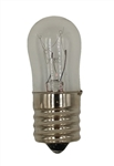 6S6/7 6 Watt 120V S6 Miniature Bulb E17 Base, 6S6/7, 6S6/E17, 6S6-E17, 11660, #11660, 6 Watt S6 Intermediate Base 120 Volt