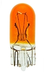 #194A MINIATURE BULB GLASS WEDGE BASE, T3 1/4 WEDGE 14V .27A, Amber Painted, 194A, #194A, #194A BULB, #194A MINIATURE, #194A MINIATURE LAMP, #194A LAMP, #194A INDICATOR, EIKO# 40430