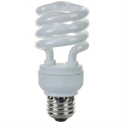 24W DIMMABLE CFL FLUORESCENT 27K E26 BASE, 24W/SPIRAL/HPF/DIMMABLE/2700K, 24524-ADIM, DIMMABLE FLUORESCENT HELIX, DIMMABLE FLUORESCENT, DIMMABLE COIL, DIMMABLE COMPACT FLUORESCENT