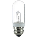 JDD100T10/CL/130V 100 WATT T10 CLEAR HALOGEN E26 BASE