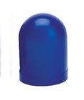 Blue Colored Bulb Cover For T3-1/4 Bulbs, autometer covers, silicone boots, colored bulb covers, color filter caps