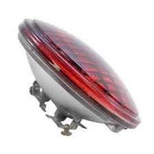 #4414R (12.8V/18W) RED PAR36 SEALED BEAM SCREW TERMINAL BASE,#4414R, #4414R RED SEALED BEAM, SEALED BEAM RED PAR36, #4414R, #24487,24487