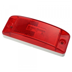 Grote 47072 Clr/Mkr Lamp, Red, Supernova® LED Sealed Turtleback® II, Optronics# MCL76RBP, Trucklite# 21251R, 21880R, Grote#47072