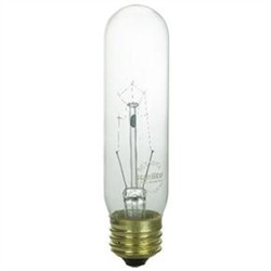 25T10/MED/CL/130V 25 WATT CLEAR T10 E26 BASE, 25T10/MED/CL/130V E26 BASE, 25T10CL, 25T10-CL, 25 WATT T10 CLEAR 130 VOLT
