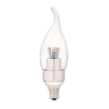 90786 LED 3W FLAME TIP/CL/CAND - DIMMABLE, #90786,90786,DIMMABLE LED BULB,DIMMABLE LED CFC,LED LIGHT BULB