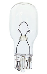 #921LL MINIATURE BULB GLASS WEDGE BASE, T5 WEDGE 12.8V 1.4A 21CP LONG LIFE, 921LL, #921LL, #921 LONG LIFE, #921LL BULB, #921LL MINIATURE LAMP, #921LL LAMP, #921 INDICATOR, EIKO# 42512
