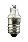 #112 Miniature Bulb E10 Base, TL3 MIN.SCREW 1.2V .22A, 112, #112, #112 BULB, #112 LAMP, #112 MINIATURE, #112 MINIATURE LAMP, #112 INDICATOR, EIKO# 40168