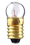 #52 Miniature Bulb E10 Base, G3 1/2 MS 14.4V .1A .75CP, 52, #52, #52 BULB, #52 LAMP, #52 MINIATURE LAMP, #52 INDICATOR, EIKO# 40760