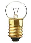 #605 Miniature Bulb E10 Base, G4-1/2 MS 6.15V 0.5A 3.4CP, 605, #605, #605 Bulb, #605 Miniature, #605 Lamp, #605 Miniature Lamp, #605 Indicator, EIKO# 40826