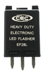 EF28L 12V 8A 3 Pin Electronic Flasher, #EP28L, CEC #EF28L Electronic Flasher, 3 Pin LED Electronic Flasher CEC #EF28L, EF28L Automotive Flasher, EF28L Electronic Automotive Flasher,CEC EF28L