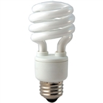 PL13SE/65K 13W 6500K Mini Coil Light E26 Base,CF13/65 #45107, Spiral Bulb, Coil Bulb, CFL, Energy Saving Bulb, Fluorescent Retrofit