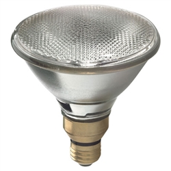80PAR38/CTD/120V 80 Watt Shatterproof PAR38 Halogen E26 Base, 80PAR38/CTD/120V 80 Watt Shatterproof PAR38 Halogen E26 Base, Safety Coated PAR38, Shatterproof 80 Watt PAR 38 130 Volt Medium Base, Safety Coated Shatterproof 80 PAR38, PTFE Coated 80W PAR38
