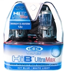 HIB9008 (H13) ULTRAMAX 2 Piece Blister Pack, T5 1/4 12V 60/55W 5/4.58A HIB UltraMax 2-Pack,#HIB9008UM Automotive Bulb, #HIB9008 Automotive Halogen, #HIB9008 Auto Bulb, #HIB9008 Halogen Bulb, CEC HIB9008 Automotive Halogen Bulb, CEC HIB9008 Bulb