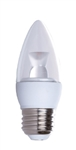 LED5CAB/32L/E26/27,LED 5 Watt Torpedo Clear 2700K E26 Base, Clear Dimmable LED Chandelier Bulb, NaturaLED #5781 LED Chandelier Bulb
