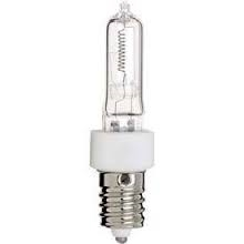 JD75/130V 75 WATT 130 VOLT HALOGEN E14 EUROPEAN BASE