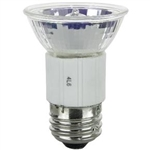JDR120V/35W FROSTED FLOOD MR16 E26 BASE,JDR9019F,JDR-9019F,JDR120V/35WE26W/FROST,120V/35W E26 Frost 40 deg,JDR FROST HALOGEN