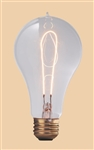 40A23/E26/1890 120V 40 WATT 1890 CARBON FILAMENT A23 BULB E26 BASE, CARBON FILAMENT BULBS, CARBON FILAMENT LAMPS, 1890 STYLE LIGHT BULBS, ANTIQUE STYLE LIGHT BULB, THOMAS EDISON REPLICA LIGHT BULB, THOMAS EDISON BULB, 1890 STYLE BULB