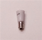 T5.5 36V-130V RED L.E.D. MINIATURE BULB E12 BASE, L.E.D., RED LED MINIATURE BULB, RED L.E.D. MINIATURE LAMP, RED L.E.D. REPLACEMENT MINIATURE BULB