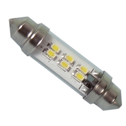 LE-0909-14WW 12V/24V Warm White LED Festoon Lamp, JKL #LE-0909-14WW, LE-0909-14WW