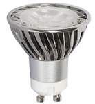 LEDGU10-4W/32K (4W GU10 LED 3200K 120V) GU10 BASE, L.E.D. GU10 BULB, L.E.D. GU10 LIGHTS
