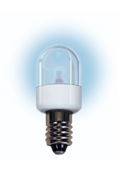 LM2030CS-W LED Miniature Bulb E12 BaseT6 Candelabra Screw Base 30V WHITE, LM2030CS-W,2FNZ8,#2FNZ8,440054,#440054LED Miniature Lamp, L.E.D. Miniature, LED Indicator