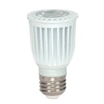 SATCO LED PAR16 6 WATT 3000K E26 BASE,6PAR16/LED/3000K/120V,S8997,#S8997
