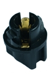 T-12 Socket T1-1/2 Twist Lock Wedge Socket, CEC #T-12, CEC #T-12 Socket,T1-1/2 Wedge Base Bulb Socket, W2.1x4.9d Base Bulb Socket, Automotive Socket, Auto Bulb Socket