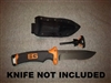 Custom Gerber Bear Grylls Ultimate Survival Kydex Sheath