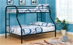 FOA Rainbow CM-BK1033BK-TF Twin over Full Bunkbed