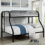 FOA Opal CM-BK931BK-TF Twin over Full Bunkbed