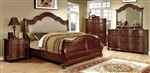 NJ Zone FOA CM7350H BellaVista Bedroom Set - 4pc set