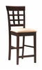 Coaster 100209 COUNTER HT CHAIR (Pack of 2)