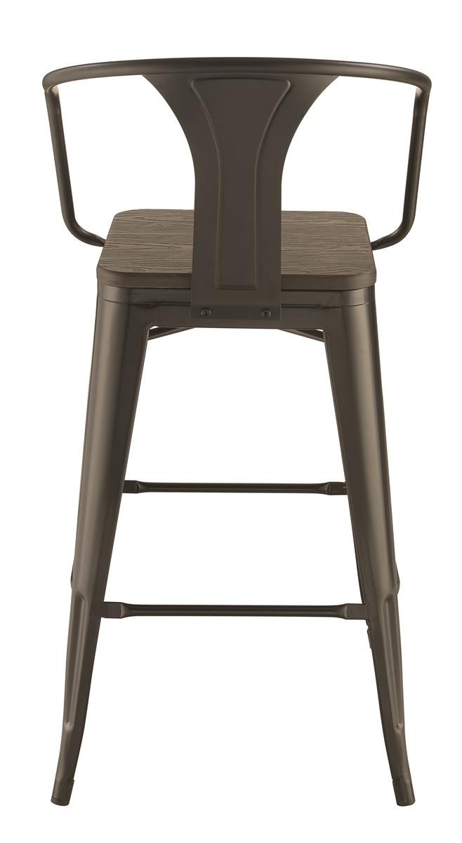 Groovy Chicago Zone 100737 Industrial Bar Stool Lamtechconsult Wood Chair Design Ideas Lamtechconsultcom