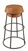 Atlanta Zone Item-Coaster 100906 BAR STOOL (Pack of 2)