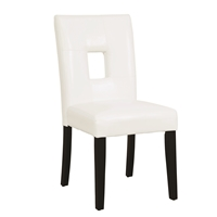 Coaster 103612WHT DINING CHAIR (Pack of 2)