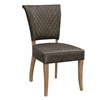Coaster DINING CHAIR (ANTIQUE BLACK)