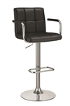 Coaster 121095 ADJUSTABLE BAR STOOL