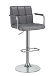 Coaster 121096 ADJUSTABLE BAR STOOL