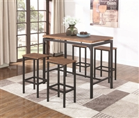 Chicago Zone Item-Coaster 182002 5PC BAR SET