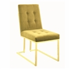 Coaster DINING CHAIR (MUSTARD)