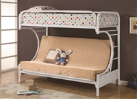 Coaster 2253W BUNK BED