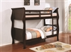 Coaster TWIN/TWIN BUNK BED (CAPPUCCINO)
