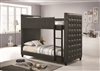 Coaster TWIN/TWIN BUNK BED (GREY)